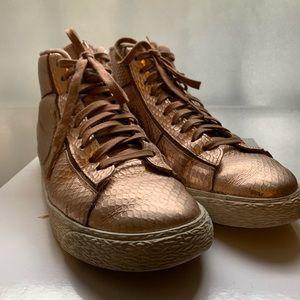 Nike blazer mid rose gold size 7